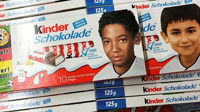 Allemagne : controverse sur fond de racisme autour des barres chocolatées Kinder