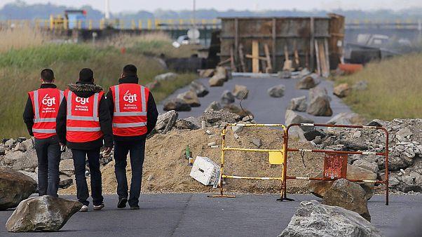 اعلام اعتصاب گسترده نیروگاههای هسته ای فرانسه در اعتراض به اصلاحات قانون کار