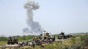Iraqi units advance on ISIL-held Fallujah