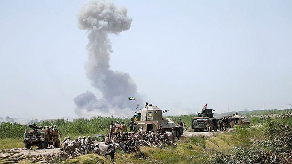 Iraqi units advance on ISIL-held Fallujah