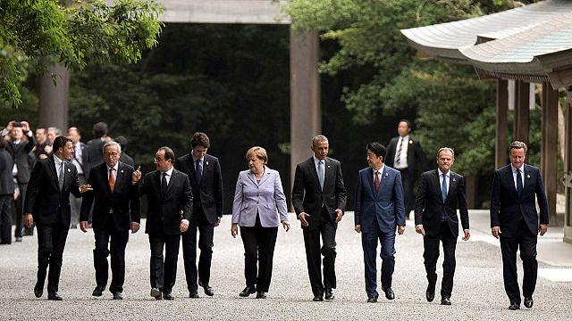 Dünya liderleri G7 zirvesi için Japonya'da