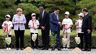 Los líderes del G7 hablan de economía, terrorismo y refugiados