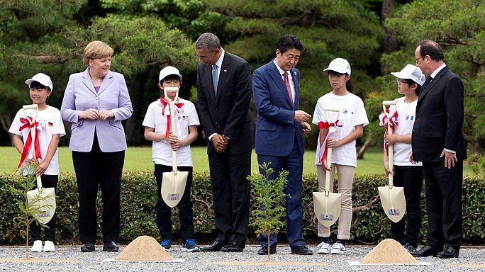 Japonya'daki G7 Zirvesi'nde dünyanın gündemi masada