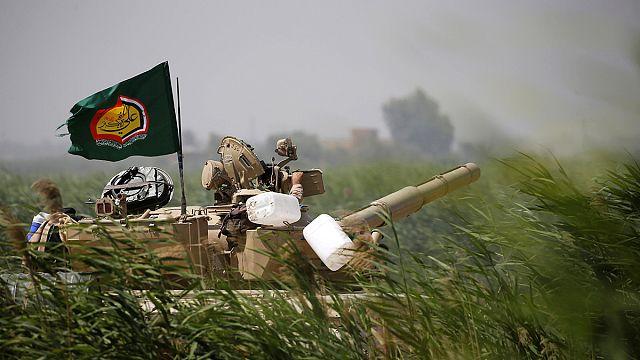 Иракская армия продвигается к Эль-Фаллудже