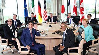 G7-csúcs: újabb világválságtól tart a japán kormányfő
