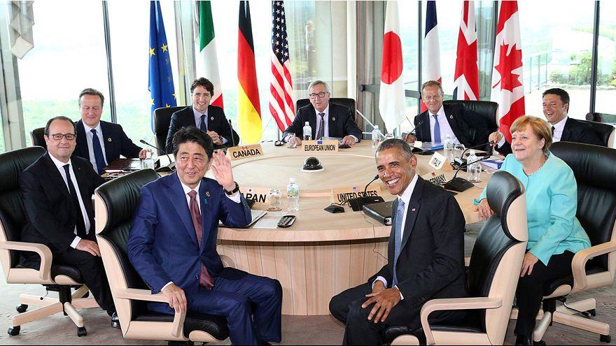 G7-Industrienationen wollen die Weltwirtschaft ankurbeln