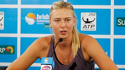 Sharapova included in Russian Olympic team despite suspension