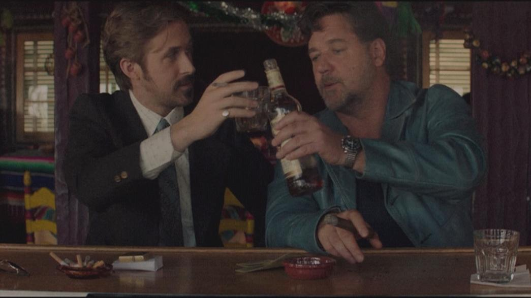"""The Nice Guys"" buddy movie avec Russel Crowe et Ryan Goslin"