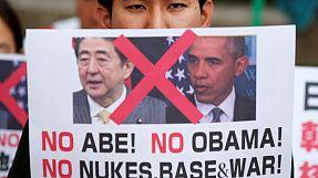 """Obama in Hiroshima """"nicht willkommen"""""""
