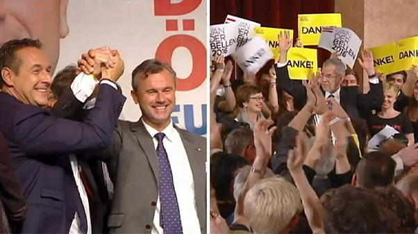 ادعای بی نظمی در انتخابات اتریش بررسی می شود