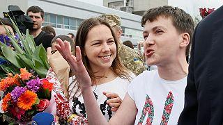 Ucrania espera que la liberación de la piloto Sávchenko sea un precedente para la liberación de otros prisioneros