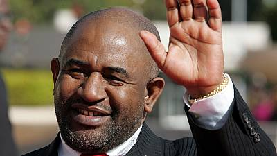 Azali Assoumani sworn-in as Comoros president