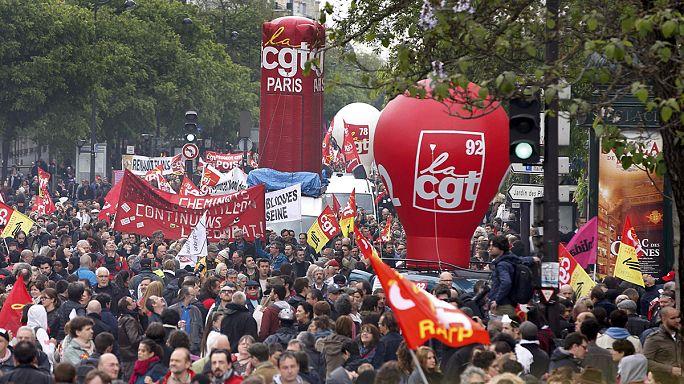 Франция: протесты нарастают