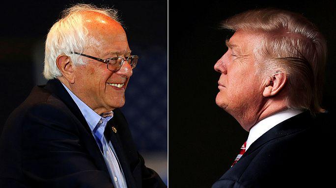 Выборы в США: Трамп и Сандерс готовятся к дебатам