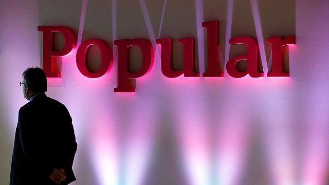 Bajban a spanyol Banco Popular