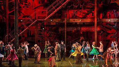 West Side Story in Salzburg, the operatic emotion