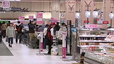 Japan consumer prices fall again in April