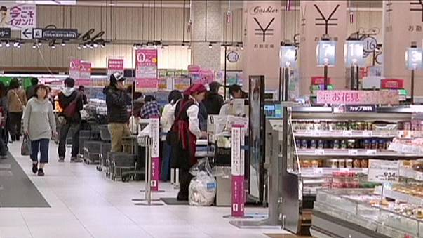 Japan consumer prices fall again in April