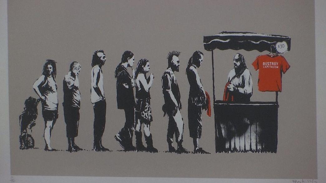 Háború, kapitalizmus és szabadság - Banksy Rómában