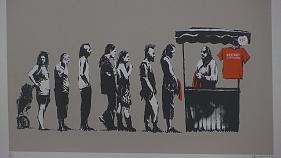 Street art : un concentré de Banksy exposé à Rome