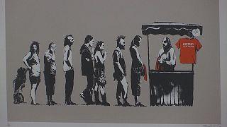 نمایشگاه «جنگ، سرمایه داری و آزادی» آثار بنکسی در رم