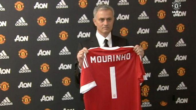 Manchester United'ın yeni teknik direktörü José Mourinho