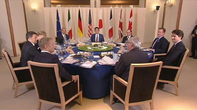 """G7: documento finale, """"prioritario spingere la crescita economica mondiale"""""""