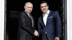 Putin and Tsipras focus on trade and investment