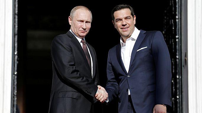 Os laços económicos entre a Grécia e a Rússia