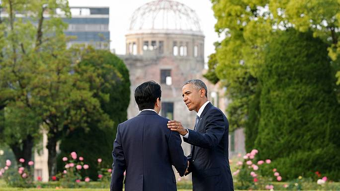 Vegyes érzelmekkel fogadták Obamát a hirosimaiak