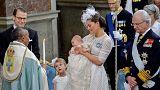 Svezia: il battesimo del principino Oscar