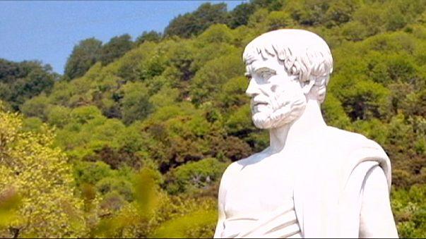 Encuentran la tumba de Aristóteles