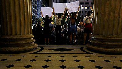 Indignación y repulsa en Brasil por la violación colectiva a una adolescente en Río de Janeiro