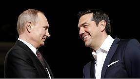 Putin in Greece to talk trade and energy