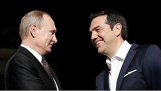Владимир Путин в Греции отверг претензии Украины на Крым