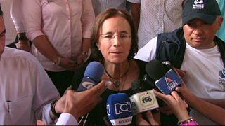 La guerrilla del ELN libera a la española Salud Hernández y a los dos periodistas colombianos secuestrados en el Catatumbo