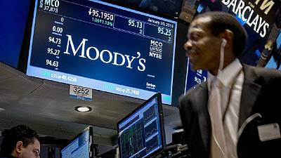 Moody's lowers outlook for South Africa's banks to negative