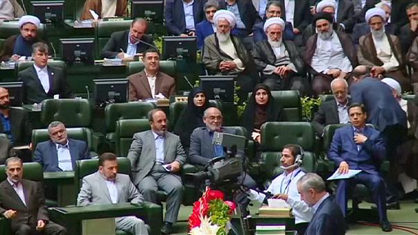 Iran swears in its tenth parliament