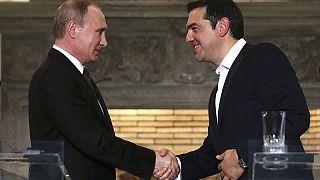 Греция: президент Путин посетил монастыри на горе Афон