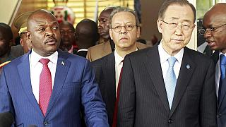 Inclusive dialogue, the only option for Burundi - Ki-moon