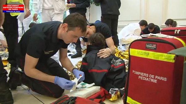 Diversi feriti anche gravi a Parigi per un fulmine, tra cui 8 bambini