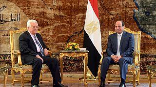 Mahmoud Abbas rencontre la Ligue arabe au Caire