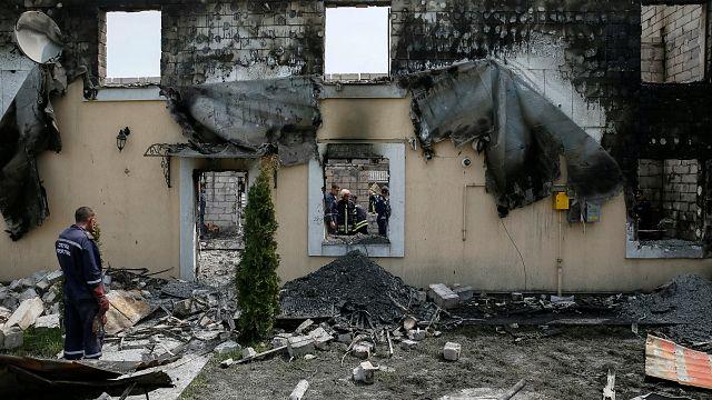 Ukrayna: Binada çıkan yangın 17 can aldı