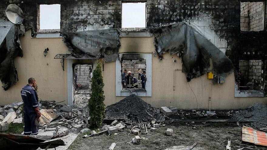 Al menos 17 personas han muerto en un incendio en Ucrania