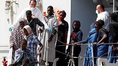 Plus de 600 migrants secourus en Méditerranée, débarquent en Italie