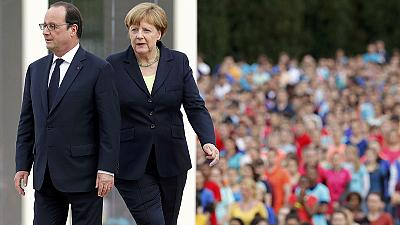 The fight for Europe's soul is continuing say Merkel and Hollande