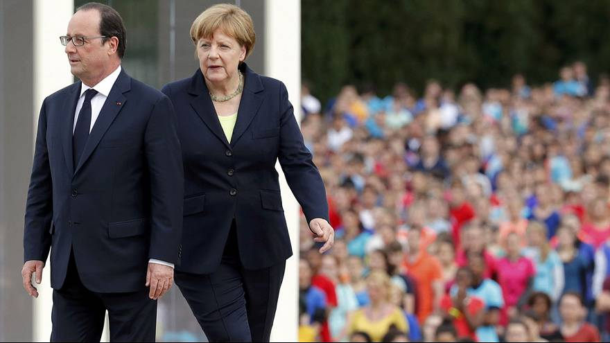 The fight for Europe's soul is continuing, say Merkel and Hollande on Verdun anniversary