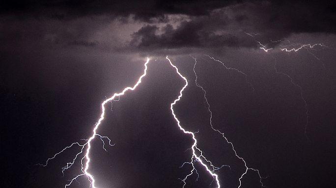 Las tormentas eléctricas dejan dos muertos en Europa