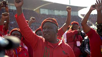 S. African opposition leader Malema campaigns in ANC stronghold