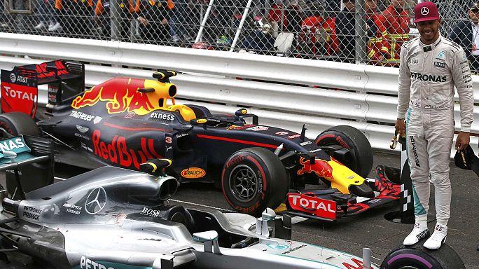 السرعة : لويس هاملتون يفوز بالجائزة الكبر لمونتي كارلو
